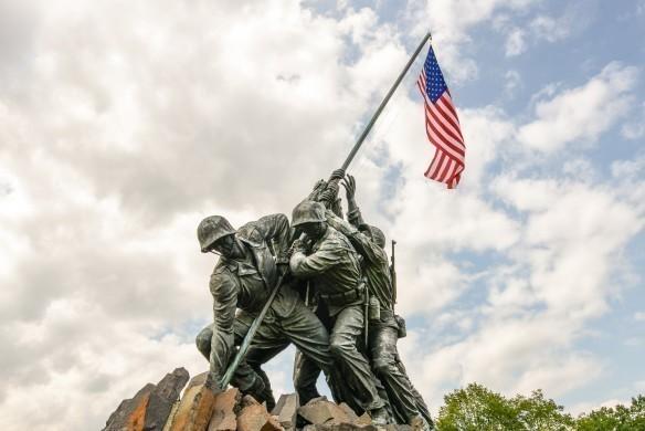 Iwo Jima in Washingron DC