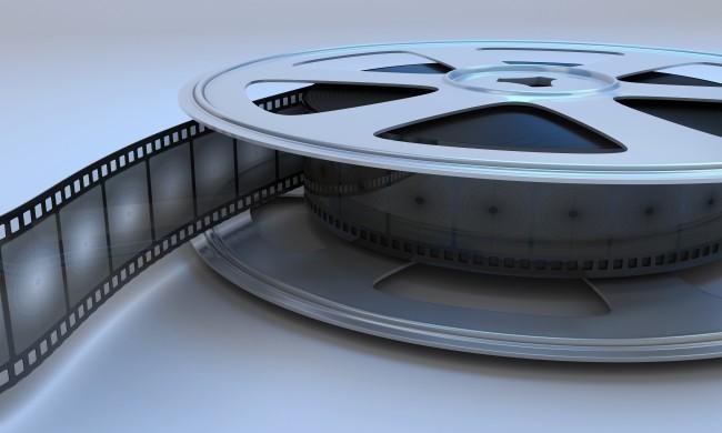 Retro reel film movie.