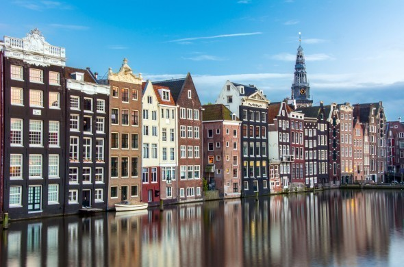 The Buildings of Amsterdam