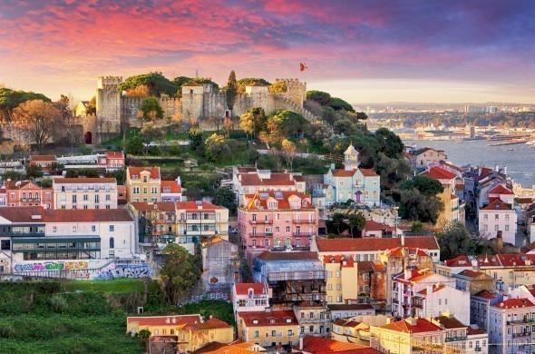 Sao Jorge Castle in Lisbon