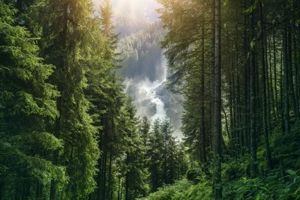 The Krimml Waterfalls