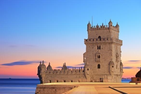 Tower of Belem in Portugal (Torre de Belem)