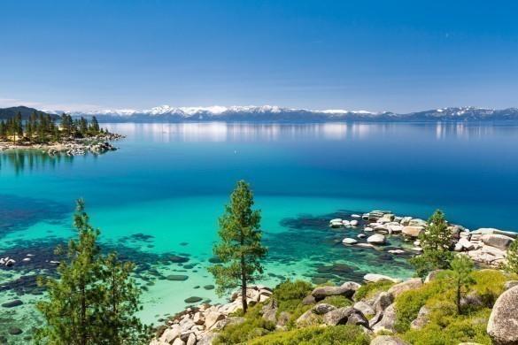 The beautiful Lake Tahoe