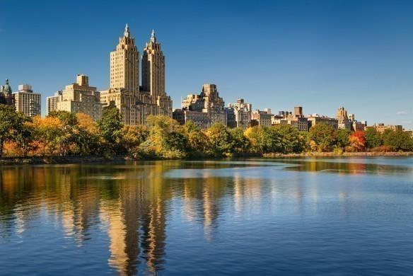 Colourful Central Park
