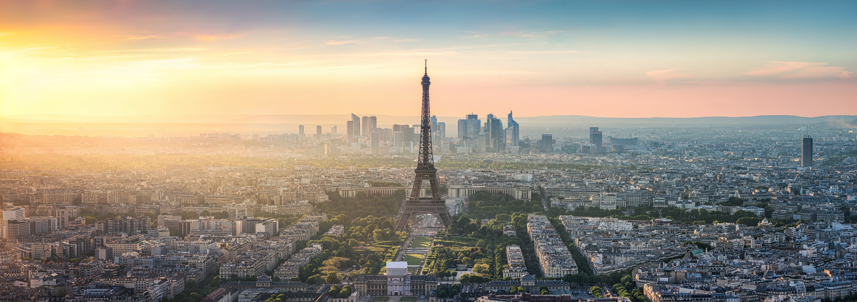 Paris Skyline Panorama Categories Wall Murals Wonder Wall