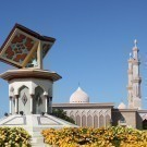 Quran roundabout in Sharjah