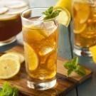 Homemade Iced Tea with Lemons