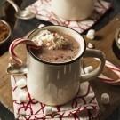 Homemade Peppermint Hot Chocolate