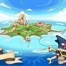 Pirate Cove Island - Treasure Map