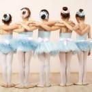 Little ballet dancers