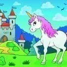 Fairy tale unicorn