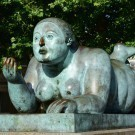 Sculpture by Botero