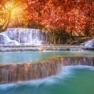 The Tat Kuang Si Waterfalls