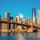 New York City at early morning light