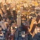 Aerial view of Los Angeles