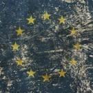 Vintage faded European Union