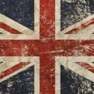 Vintage Faded British Flag