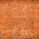 Brick wall panoramic view