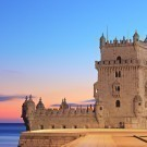 Tower of Belem in Portugal (Torre de Belem)