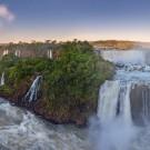 Panoramic of Iguacu Falls
