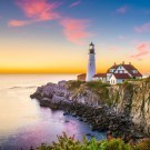 Lighthouse at Cape Elizabeth, Maine