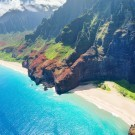 Na Pali Coast in Hawaii