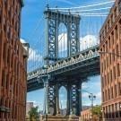New York and Manhattan bridge