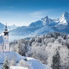 Winter wonderland in the German Alps