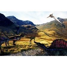 Prehistoric Scene