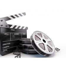 Video, movie, cinema concept