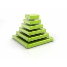 Pyramid of Cubes