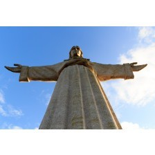 Christ the King statue in Lisbon