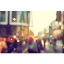 People in street of London