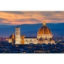 Twilight at Duomo Florence