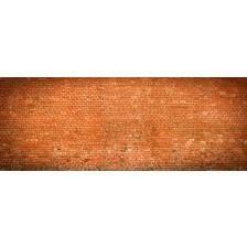Brick wall panoramic view