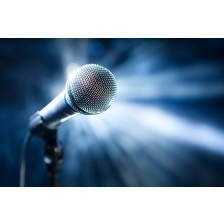 Microphone on stage I