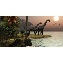 Brachiosaurus Sunset