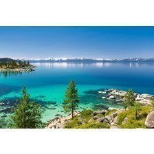 The beautiful Lake Tahoe