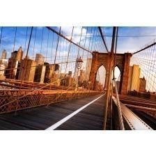 Sunshine over Brooklyn Bridge