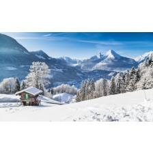 Winter wonderland in the Alps